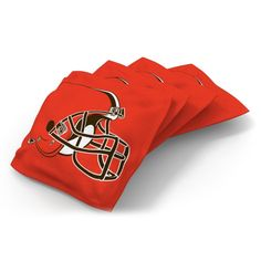 Wild Sports Cleveland Browns Regulation Cornhole Bean Bag Set 4 Pack