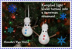 Momma's Fun World: 15+ fun and easy Christmas ornaments for kids
