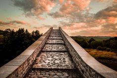 Old Stone Bridges In Northern Greece