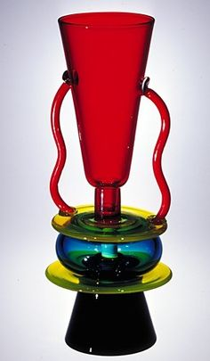 Sirio by Ettore Sottsass, designed in 1982 | Corning Museum of Glass