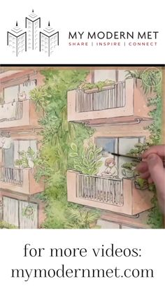 Manga Style Watercolor Illustrations by Heikala.  There's something so beautiful, serene, and nostalgic about the watercolor illustrations of Heikala. ☺️✍️#manga #watercolor #painting