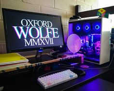 Finally took pics of my college setup! In two weeks I'll have it all set up in my studio. :)