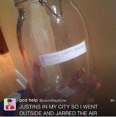 They bottle his possible breath... | The 24 Most Terrifying Justin Bieber Fans