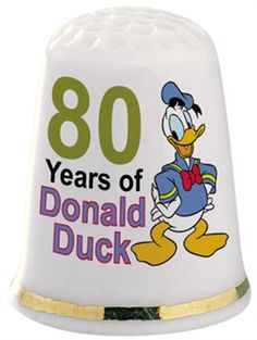 Thimbles+From+around+the+World+|+Home+Thimbles+Past+Thimbles+Still+Available+Donald+Duck+80th+Birthday+...