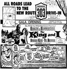 Drive In Movie Theater, Deborah Kerr, Judas Priest, My King, Letting Go, Theatre, Scene, Ads, Entertaining
