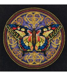 Dimensions Gold Collection Petite Ornate Butterfly  {for Nic}