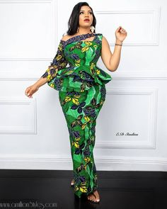 You can definitely wear ankara to a wedding and still look classy and exquisite. Scroll below to find awesome inspirations on how to rock Ankara to a wedding. African Fashion Ankara, Latest African Fashion Dresses, African Dresses For Women, African Print Fashion, African Attire, African Style, African Clothes, African American Fashion, African Lace
