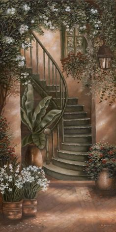 #Art #Stairs          For more great pins go to @KaseyBelleFox