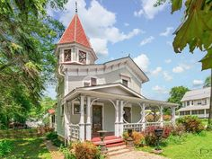 The property 219 N Main St, Sandwich, IL 60548 is currently not for sale on Zillow. View details, sales history and Zestimate data for this property on Zillow. Victorian Architecture, Amazing Architecture, Brick Paver Patio, Custom Window Treatments, Old House Dreams, Cottage Homes, Historic Homes, Victorian Homes, Stairways