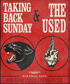 NEWS: frnkiero andthe cellabration to join Taking Back Sunday and The Used this fall http://boystereo.com/1nhYFNn #frankiero #takingbacksunday #theused