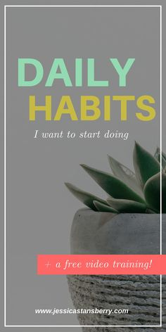 "There are some ""typical"" daily habits that I want to start doing during 2019 to improve my life and my business. These little improvements in my live can also help you too! #habits #dailyhabits #selfimprovement #entrepreneur #entrepreneurtips #businesstips"
