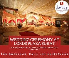 We at Lords Plaza Surat assure you of making your sweetest dream coming true. Save your date with us and rest be assured. Contact Us!