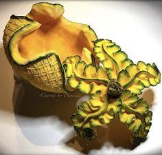 Fun Fruit, Best Fruits, Zucchini, Carving, Foods, Vegetables, Art, Fruit Carvings, Food Food