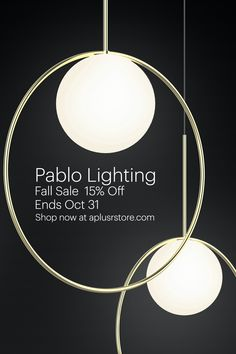 Pablo Lighting, A & R, Semi Annual Sale, Modern Design, Things To Come, San, Ceiling Lights, Shopping, Collection