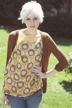 diy shirt using scarves-MUST try this soon!