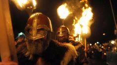 Un incroyable festival viking en Écosse