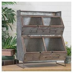 Rustic Metal 4 Bin Organizer – Farmhouse Fresh Home Country Decor, Rustic Decor, Country Kitchen Designs, Target Home Decor, Minimalist Home Decor, Country Style Homes, Home Decor Accessories, Furniture Decor, Gray