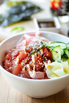 Poke Bowl with Spicy