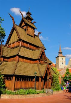 Did YOU know this #DisneyTrivia about Epcot's Norway Pavilion? (Photo via Disney Parks)