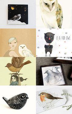 Birds Art on Black Friday
