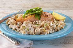 Creamy Salmon Fettuccine/Tofu Recipe   House Foods