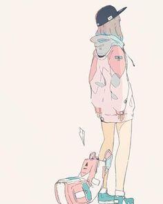 e-shuushuu kawaii and moe anime image board Aesthetic Drawing, Aesthetic Anime, Aesthetic Art, Chibi, Manga Drawing, Manga Art, Psychedelic Art, Character Art, Character Concept