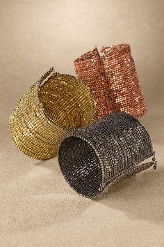 Simple Statement Cuff - Seed Bead Cuff Bracelet, Bracelet Cuff | Soft Surroundings