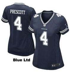 Game day is your time to shine among your fellow fans. Represent your team with this Official Dak Prescott Jersey. Designed with the exact specifications of the jerseys your favorite players wore on t