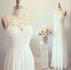 Chiffon Lace Sheath Wedding Dress Illusion Neckline 0001