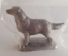 Golden Retriever Statuette; Fine Pewter; Rawcliffe 1986 Unopened; Miniature in Collectibles, Animals, Dogs, Golden Retriever | eBay