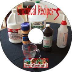 1000's Chemical Recipes Formulas Tips Processes Home Industrial Use Old Books CD