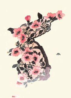 Beautiful Korean flower #tattoo #korean #flower