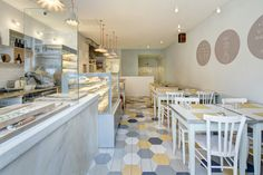 Burro e Salvia, East Dulwich, London by elips design