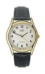 Casio Men's Leather watch #MTP1094Q7B1 Casio. $17.20. Water Resistant - 30M. Case Size:  33mm Diameter, 7.7mm Thickness. Stainless Steel Case, Leather Strap. Mineral Crystal, 3 Hand Movement. Precise Japan Quartz Movement