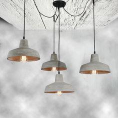Pendant Lighting, Light, Concrete, Lighting, Cluster Pendant Lighting, Home Decor, Ceiling Lights, Light Fittings, Cluster Pendant