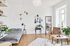 Gravity Interior | Small studio apartment // more pictures here