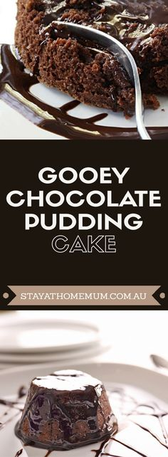 Gooey Chocolate Pudding Cake