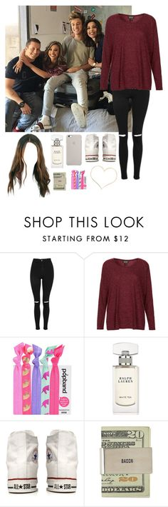 """""""Spending the day with Cameron and his Family!"""" by be-robinson ❤ liked on Polyvore featuring Topshop, Popband, Ralph Lauren and Converse"""