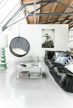 Meble i dodatki do wnętrz od holenderskiej marki HK Living - Salon - Styl Industrialny - scandiliving.pl
