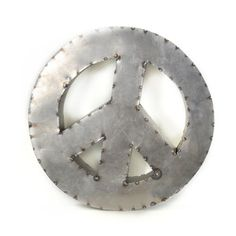 Reclaimed Peace Sign, $64, now featured on Fab.
