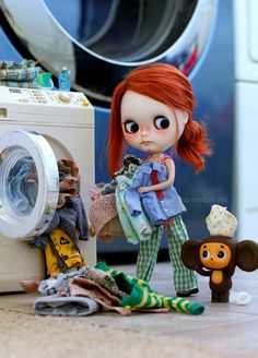 Laundry Day ~ | Blah!!!! It's laundry day and Lenny is not g… | Flickr