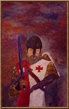 Painting crusader