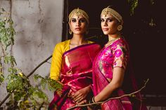 Gaurang Shah's Saris - kanjeevarams with interesting blouses