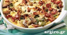 Ομελέτα με λαχανικά και κρέμα γάλακτος από την Αργυρώ Μπαρμπαρίγου | Καταπληκτική ομελέτα σουφλέ για πρωινό, για brunch και για ό,τι άλλο φανταστείτε!