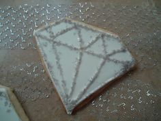 Diamond cookies are a girls' best friend by TreatsbuyTerri on Etsy, $30.00