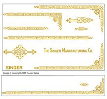 Sewing Machine Singer 221 Featherweight AD Series Restoration Decals - Worlds Largest Selection of Sewing Machine Restoration Decals Vintage Sewing Notions, Antique Sewing Machines, Sewing Spaces, Sewing Rooms, Featherweight Sewing Machine, Needle Book, Tatting Patterns, English Paper Piecing, Sewing Studio
