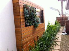 Love the recessed garden.