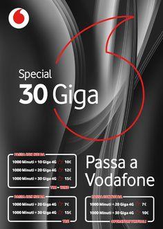 Special 30 Gb di Vodafone. Ecco come attivarla