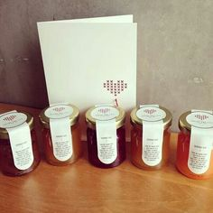 home made spread as wedding favours | gshconserves
