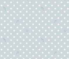 Polka-Dot Yarn fabric by knatalie_knits on Spoonflower - custom fabric